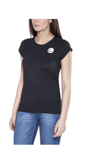 Edelrid Highball t-shirt Dames zwart